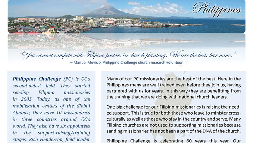 OC Philippine Challenge