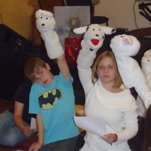Manchita puppets