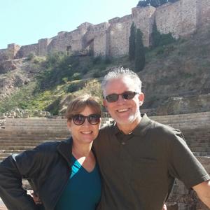 Deänne and her husband Jeff