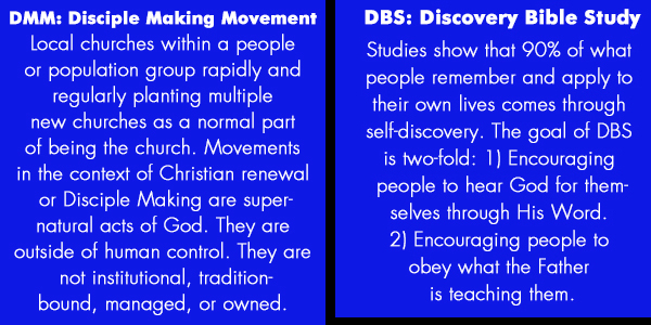 definitions of DMM and DBS