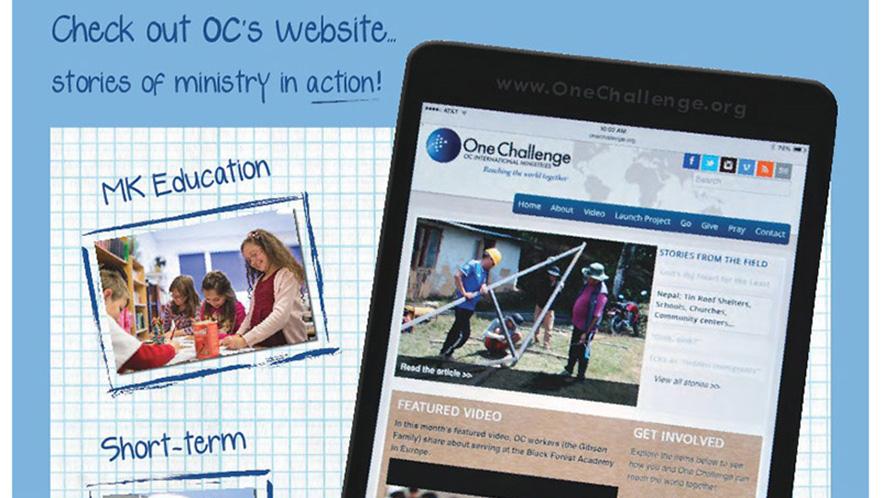 OC website OneChallenge.org