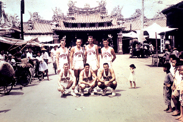 Bud basketball team