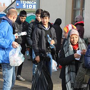 serving refugees