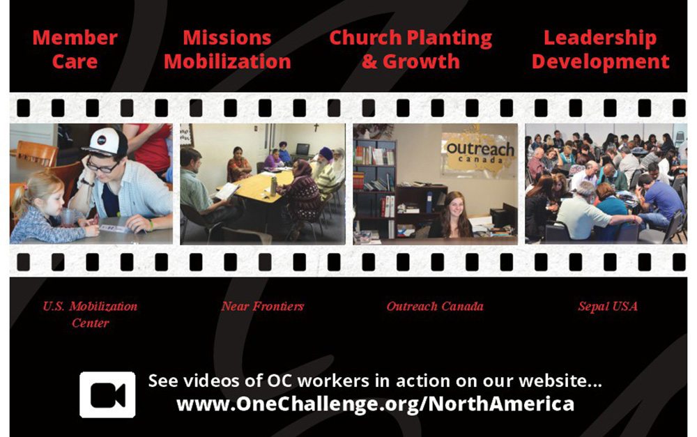 OC ministries in North America