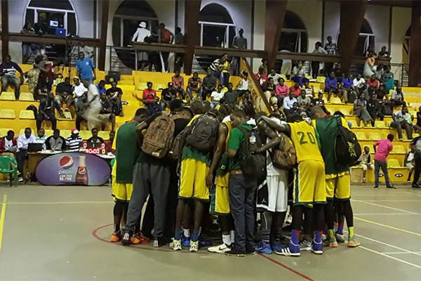 God's Work through Basketball in Uganda
