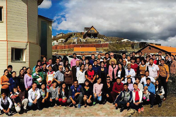leadership training in Mongolia