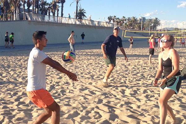 Sports Ambassadors beach volleyball
