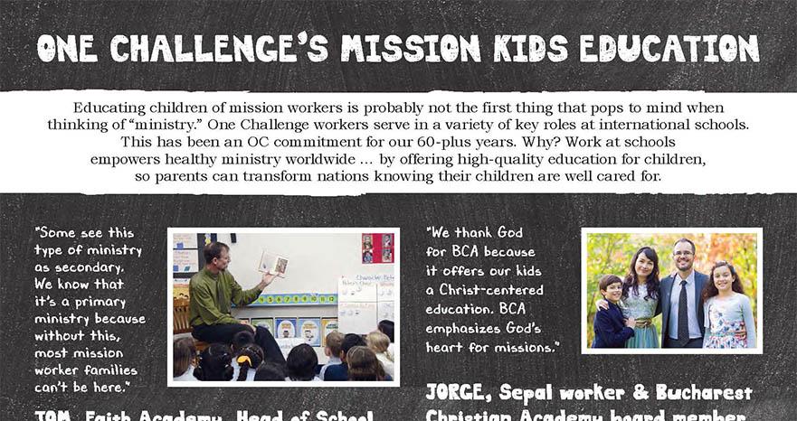 OC mission kids education