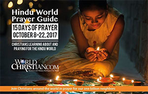 15 DAYS Hindu World Prayer Guide: 2017