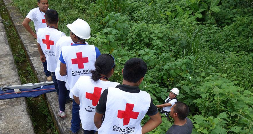 OC and Cruz Roja Guatemalteca