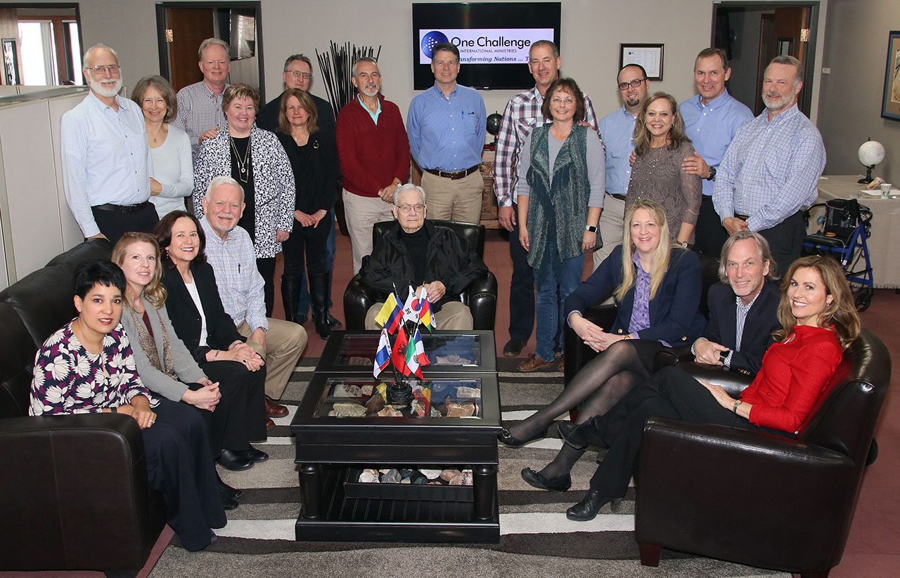 2018 Board with spouses