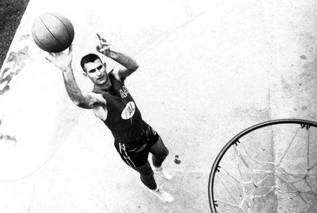 basketball and Tine Hardeman