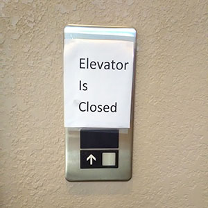 Elevator at OC Office