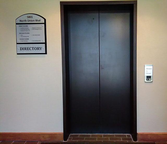 Elevator at OC Office
