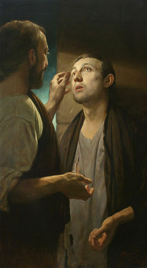 Christ and the Pauper, 2008, Andrei Mironov