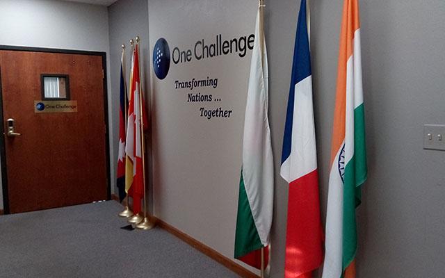 One Challenge mobilization center