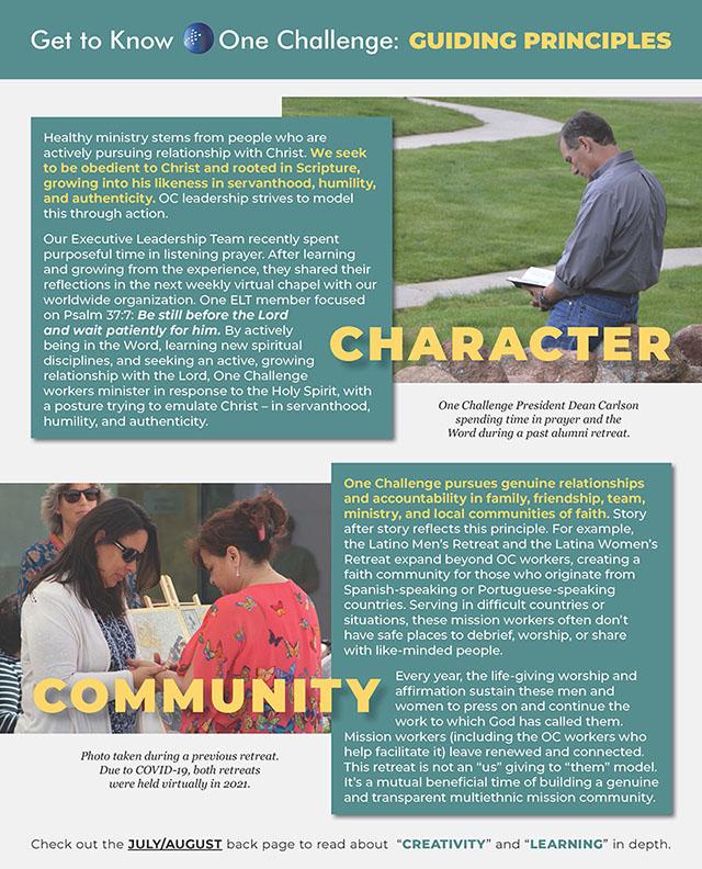 OC guiding principles